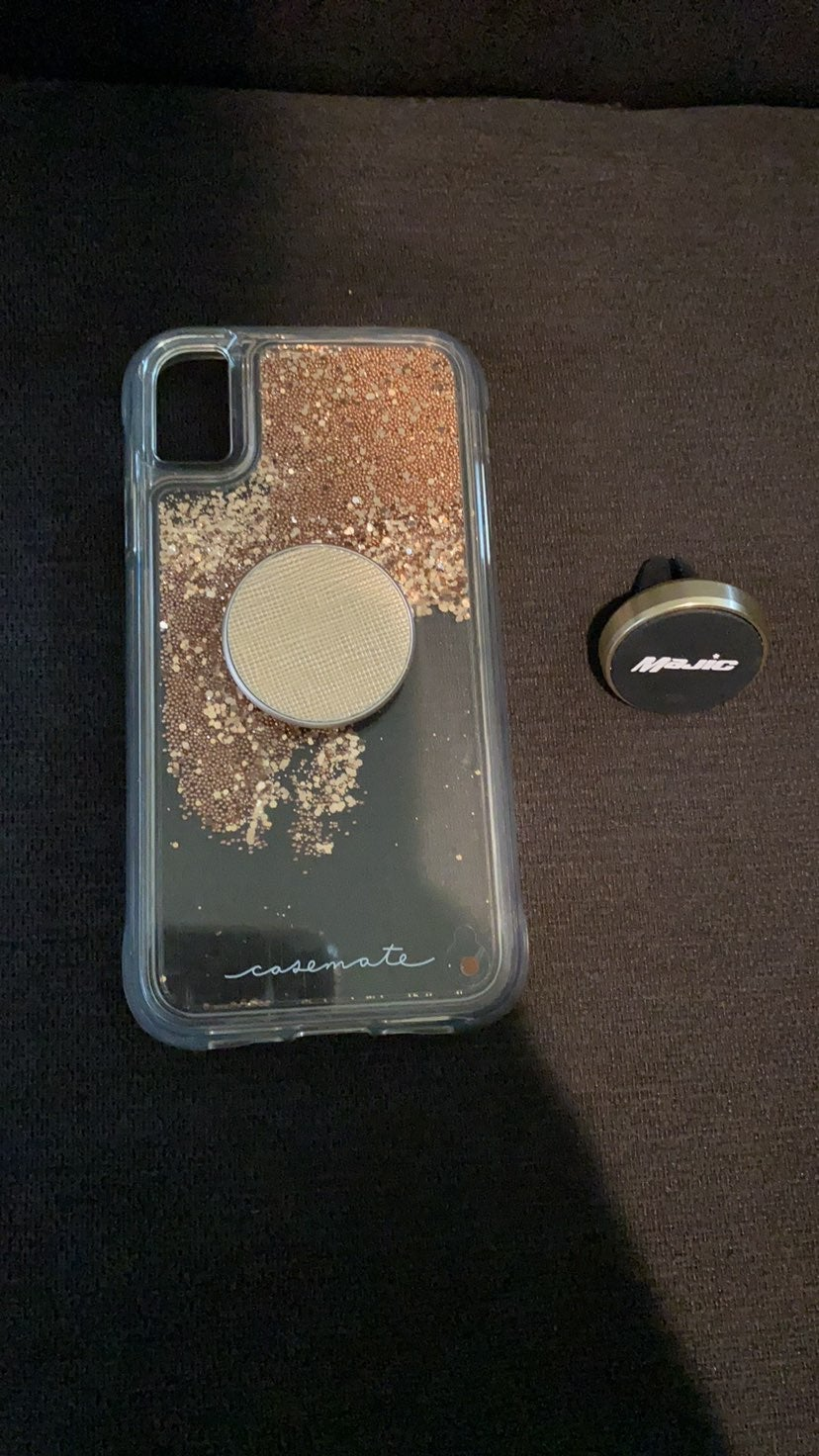 iPhone XR Casemate Cover with magnetic p