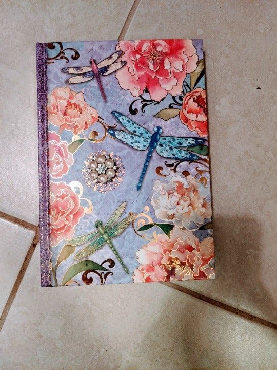 Pooch & Sweetheart Dragonfly Journal