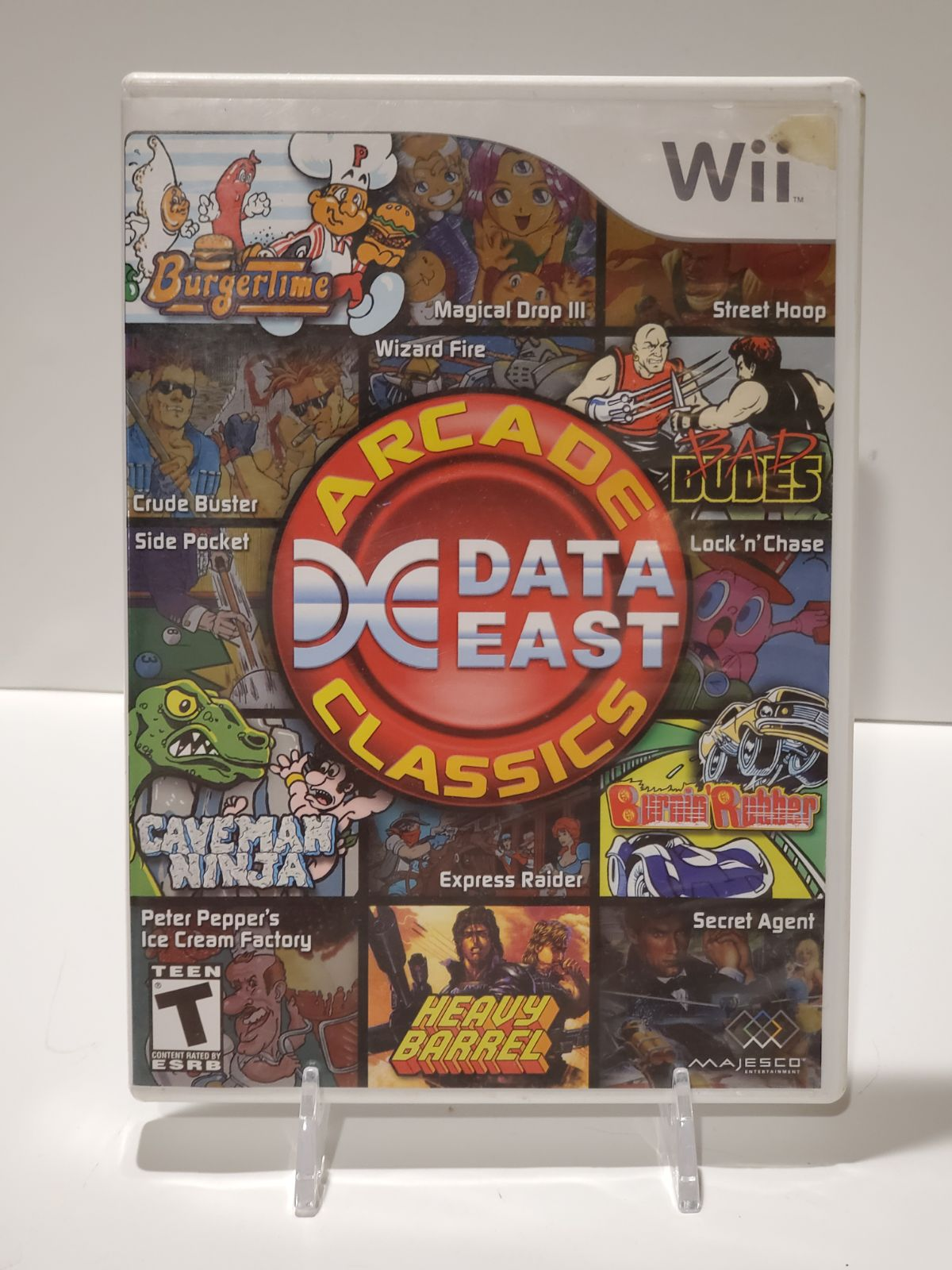 Data East Arcade Classics on Wii