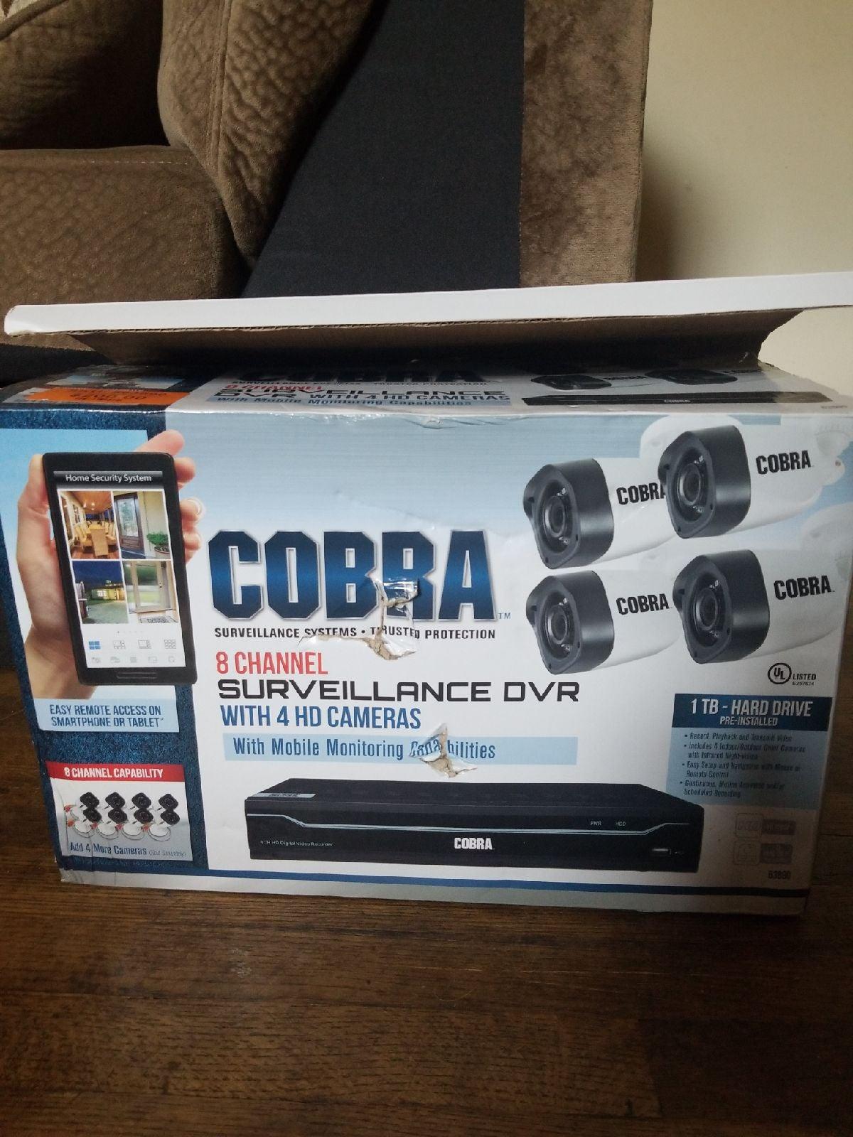 Cobra security camera system
