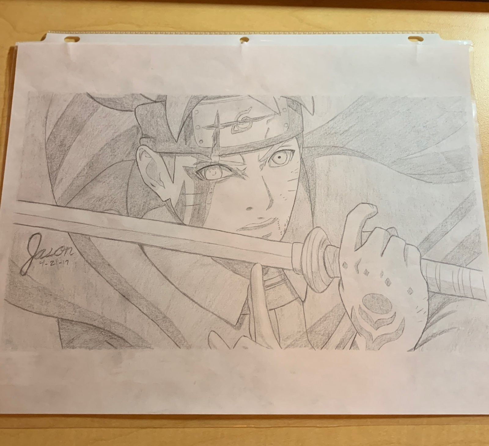 Boruto: Naruto Next Generations Drawing