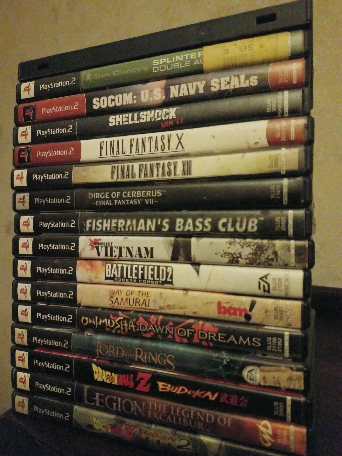 Lot of 16 PS2 games