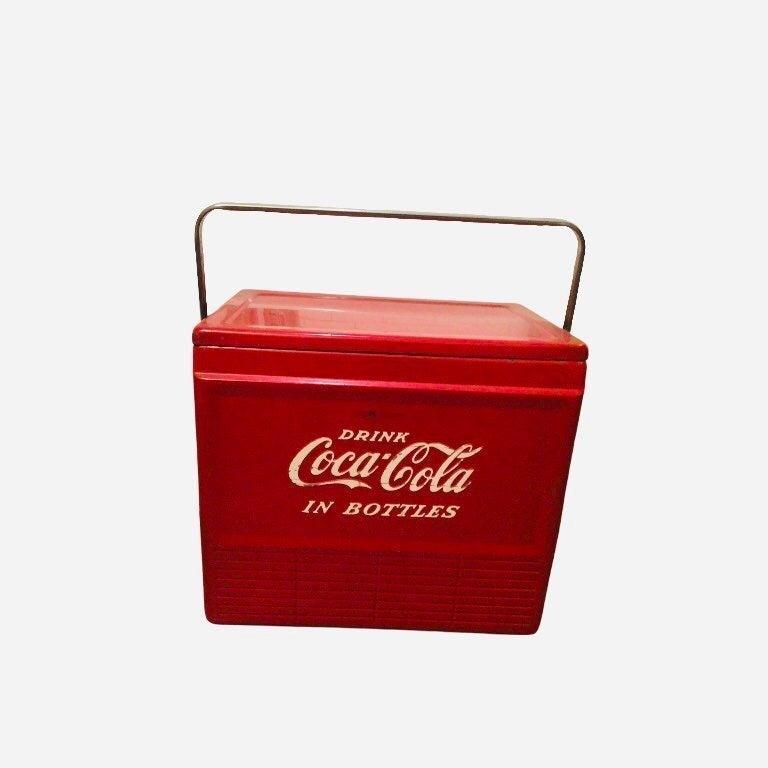 Vintage 50s Coca-Cola Cooler w/ Handle