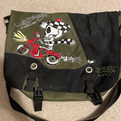 Ed Hardy messenger bag