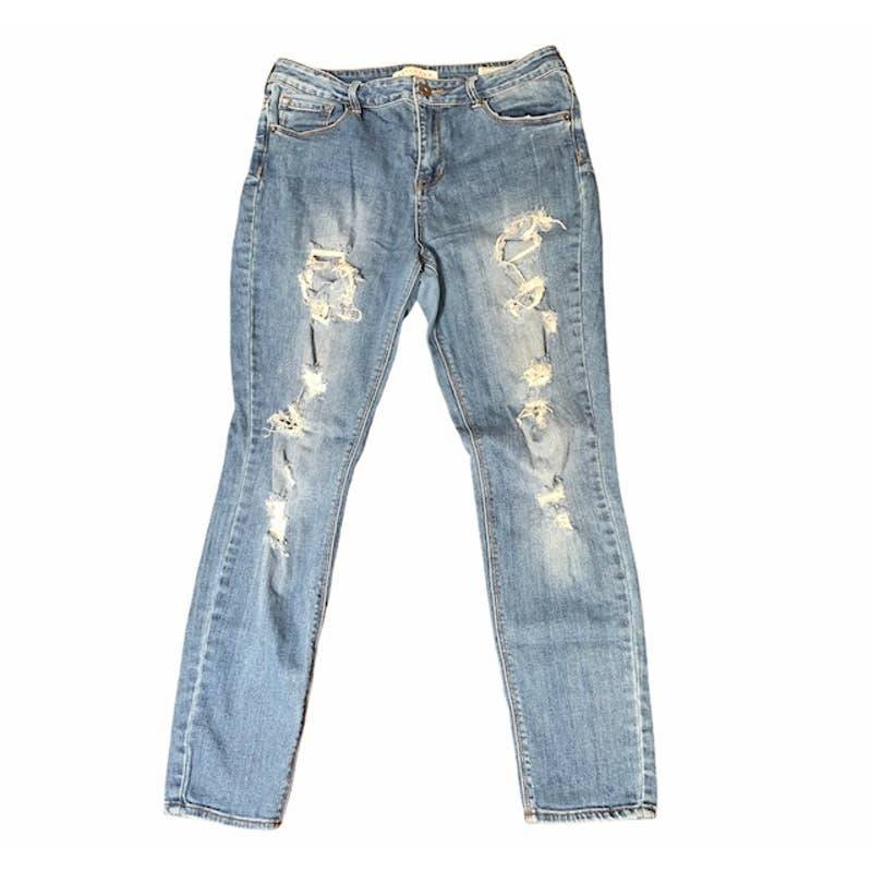 BULLHEAD High Rise Skinniest Denim Jeans