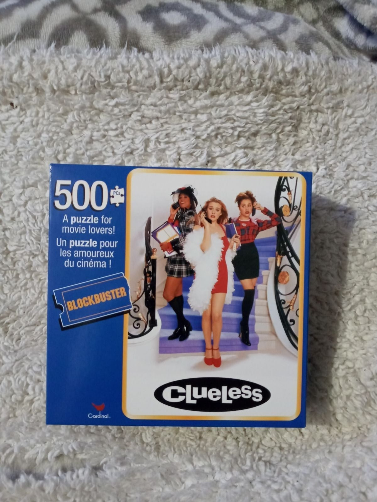 500 piece Clueless puzzle