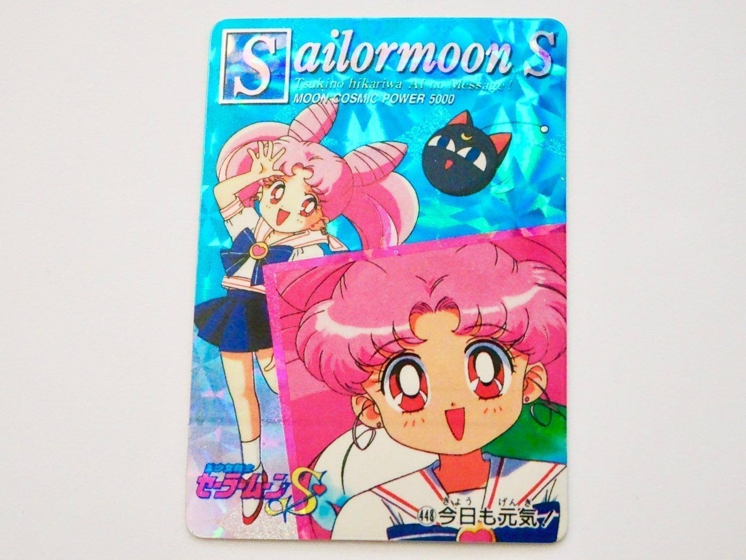 Vintage Chibiusa Holo Prism Sticker #448