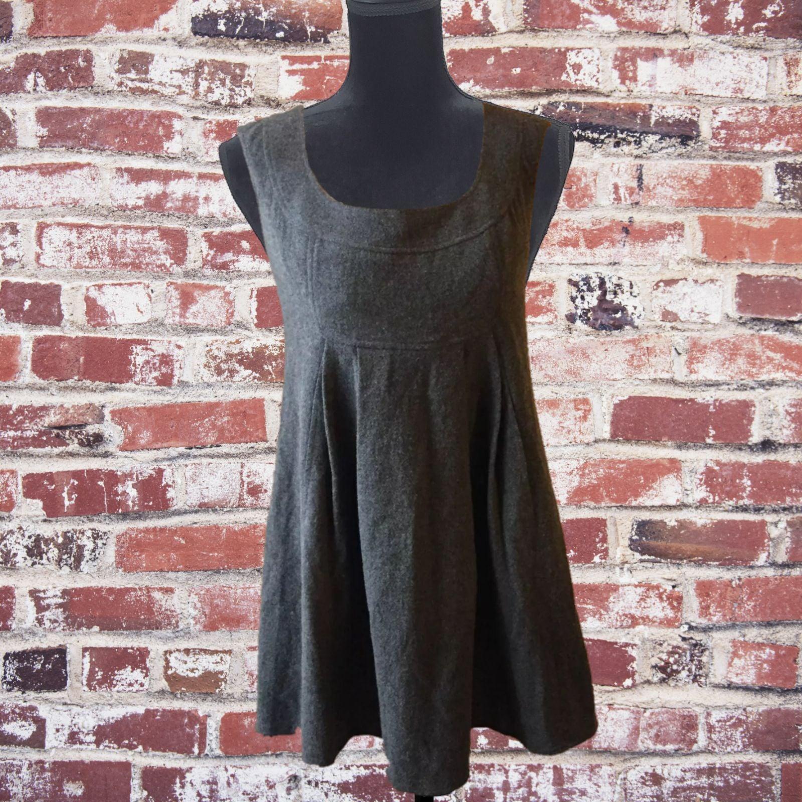Susana Monaco grey wool jumper dress