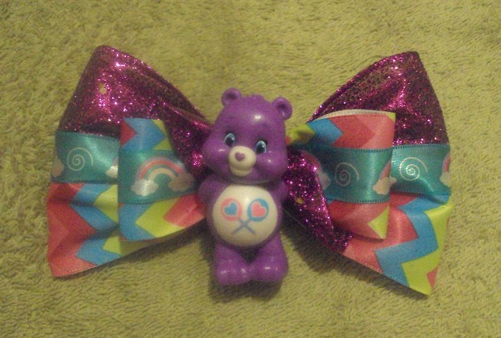 Care Bears SHARE Bear Handmade Hair Bow