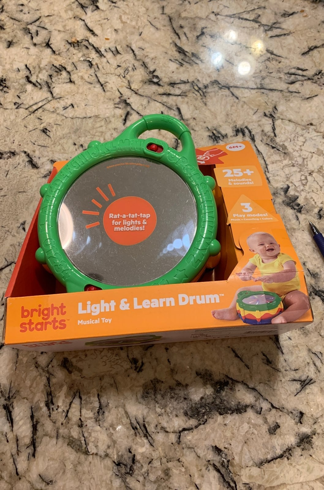 Bright starts light and learn drum