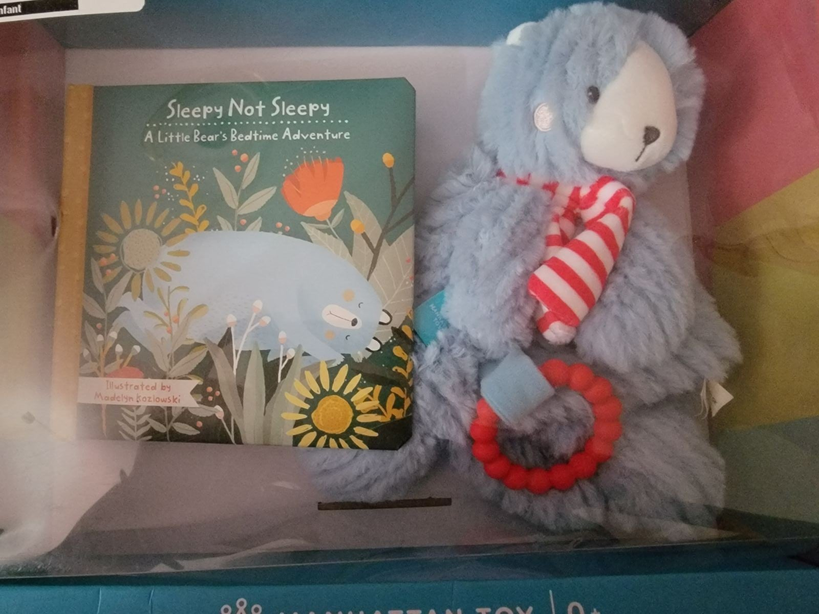 childrens book and toy pack little bear