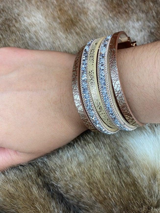 Buckle Gold Bracelet