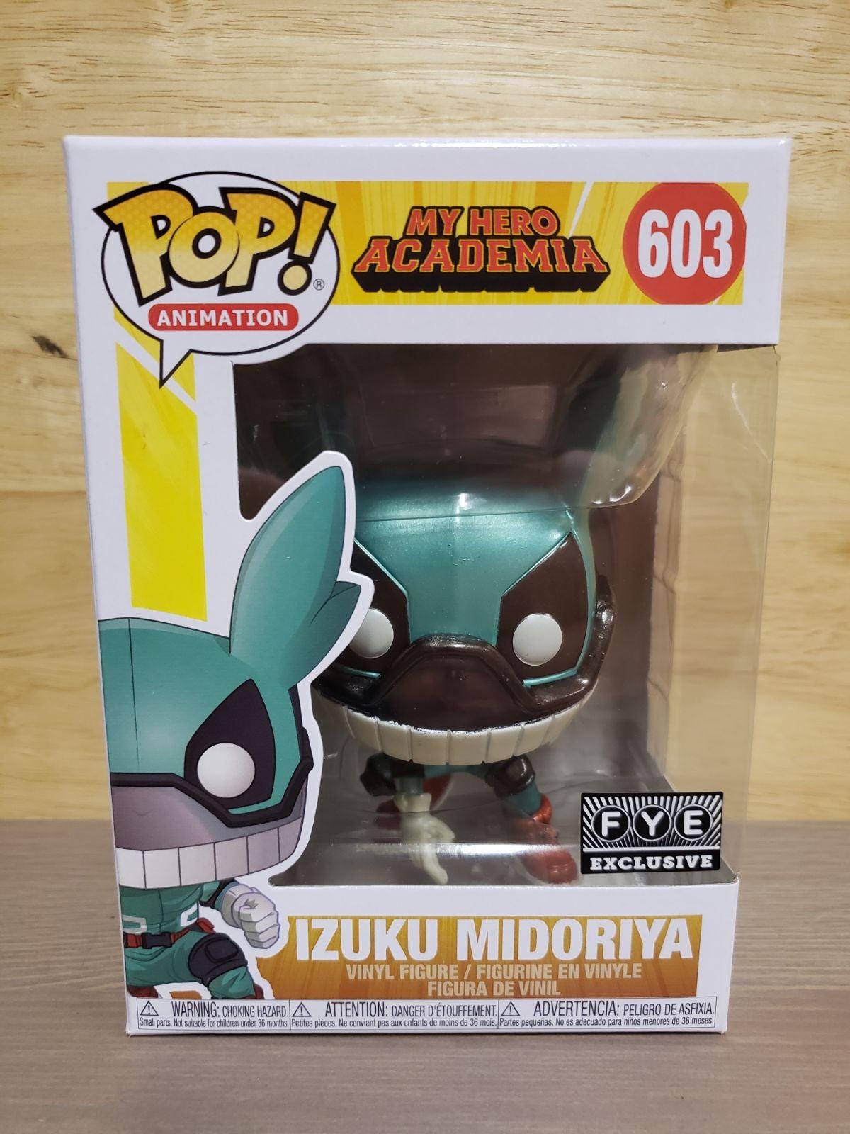 Izuku Midoriya MHA Metallic FYE Funko