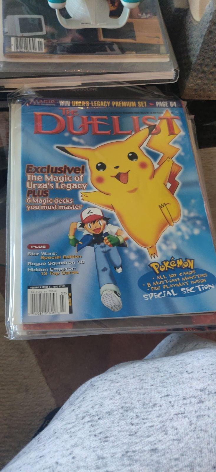 Duelist Volume 6 issue 3. Pokemon editio