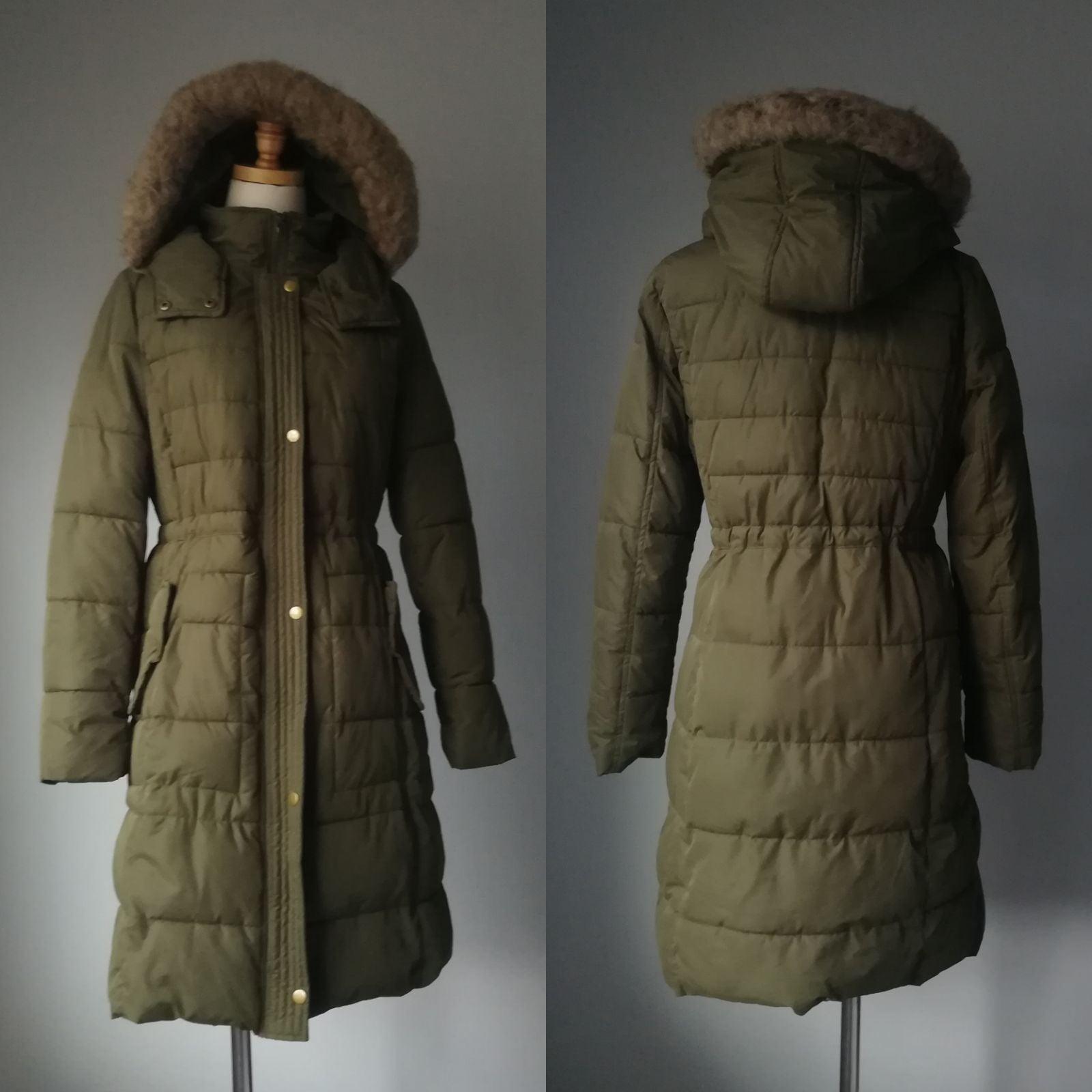 MERONA Green Puffer Winter Parka Long Co
