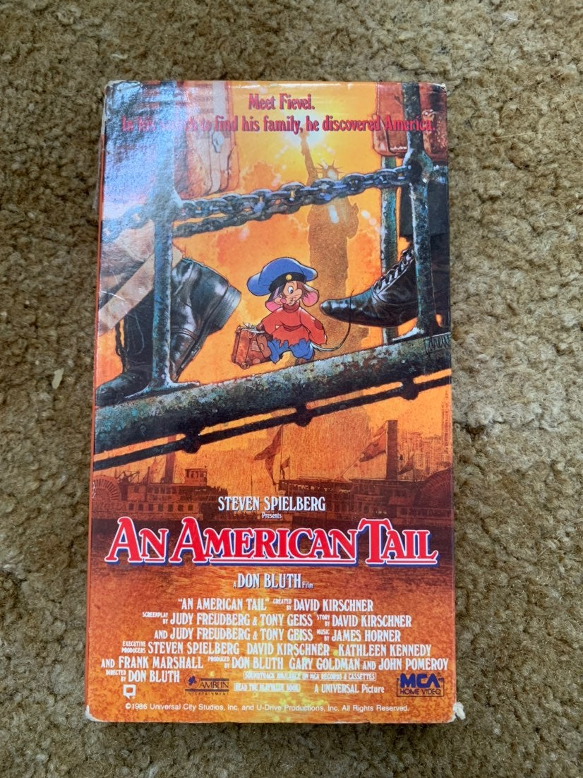 An American Tail VHS