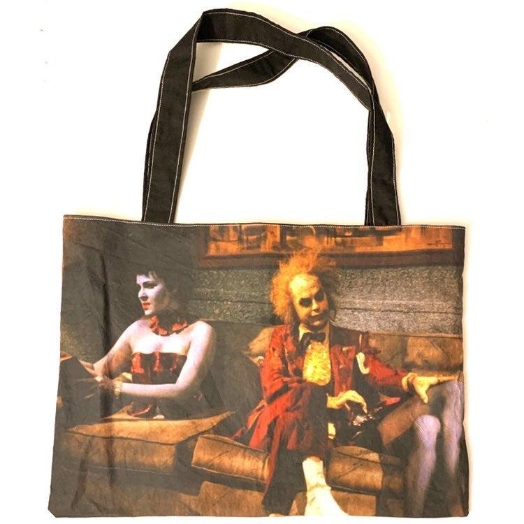 Classic horror Beetlejuice Tote Bag