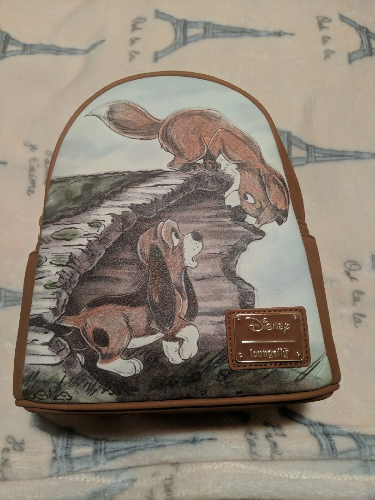 Loungefly Fox and the Hound Backpack