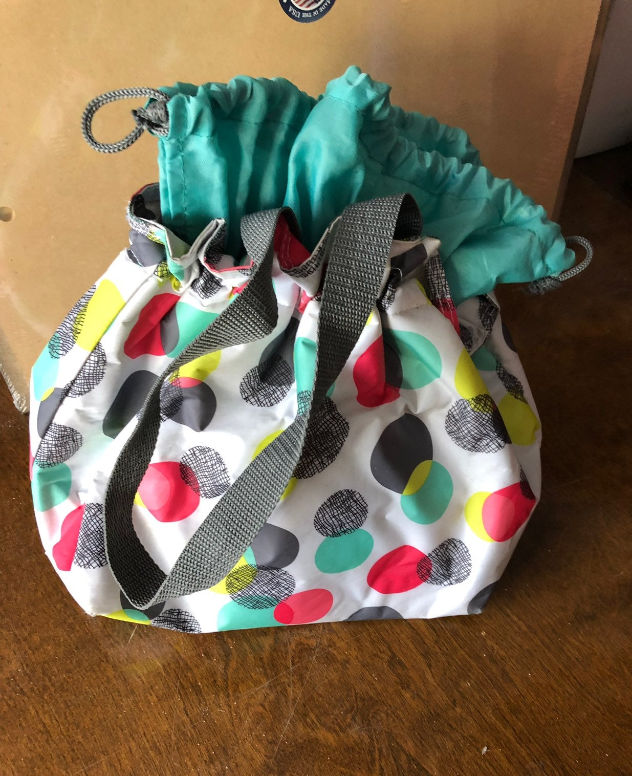 Thirty One Thermal Drawstring Lunch Tote