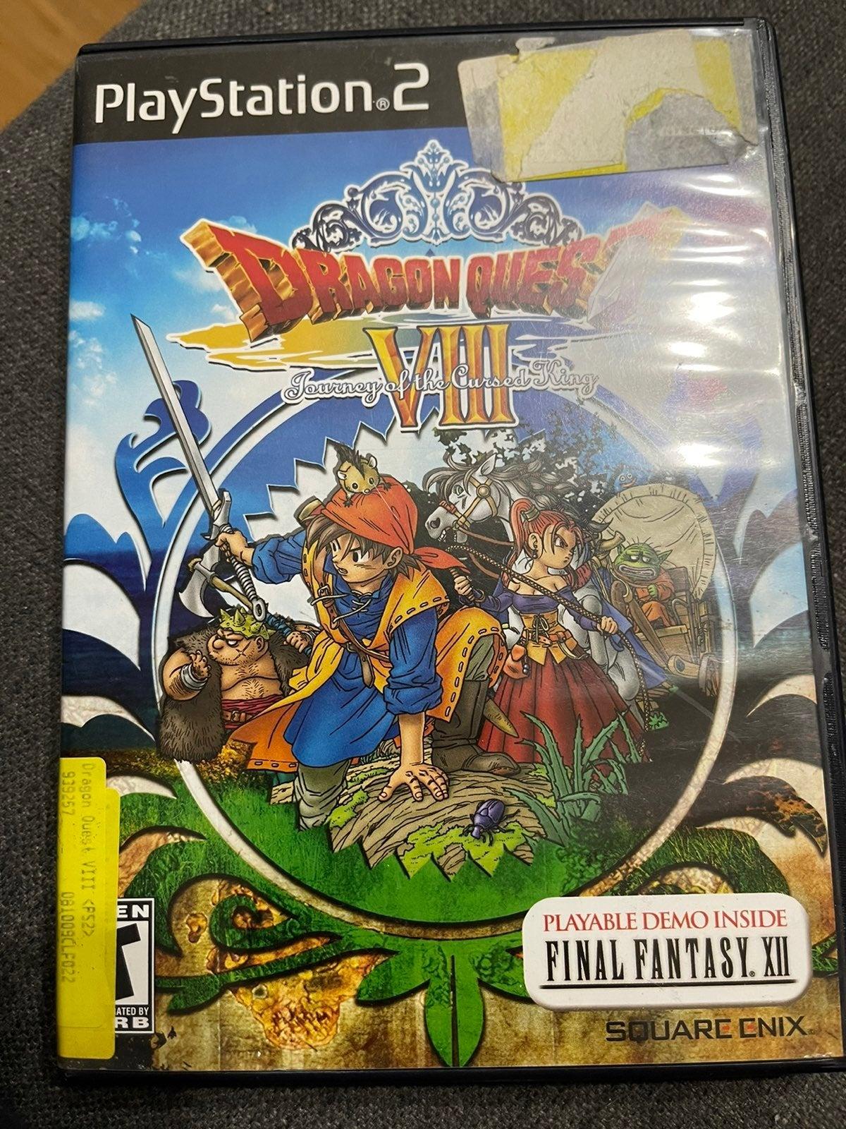 PS2 Dragon Quest VIII