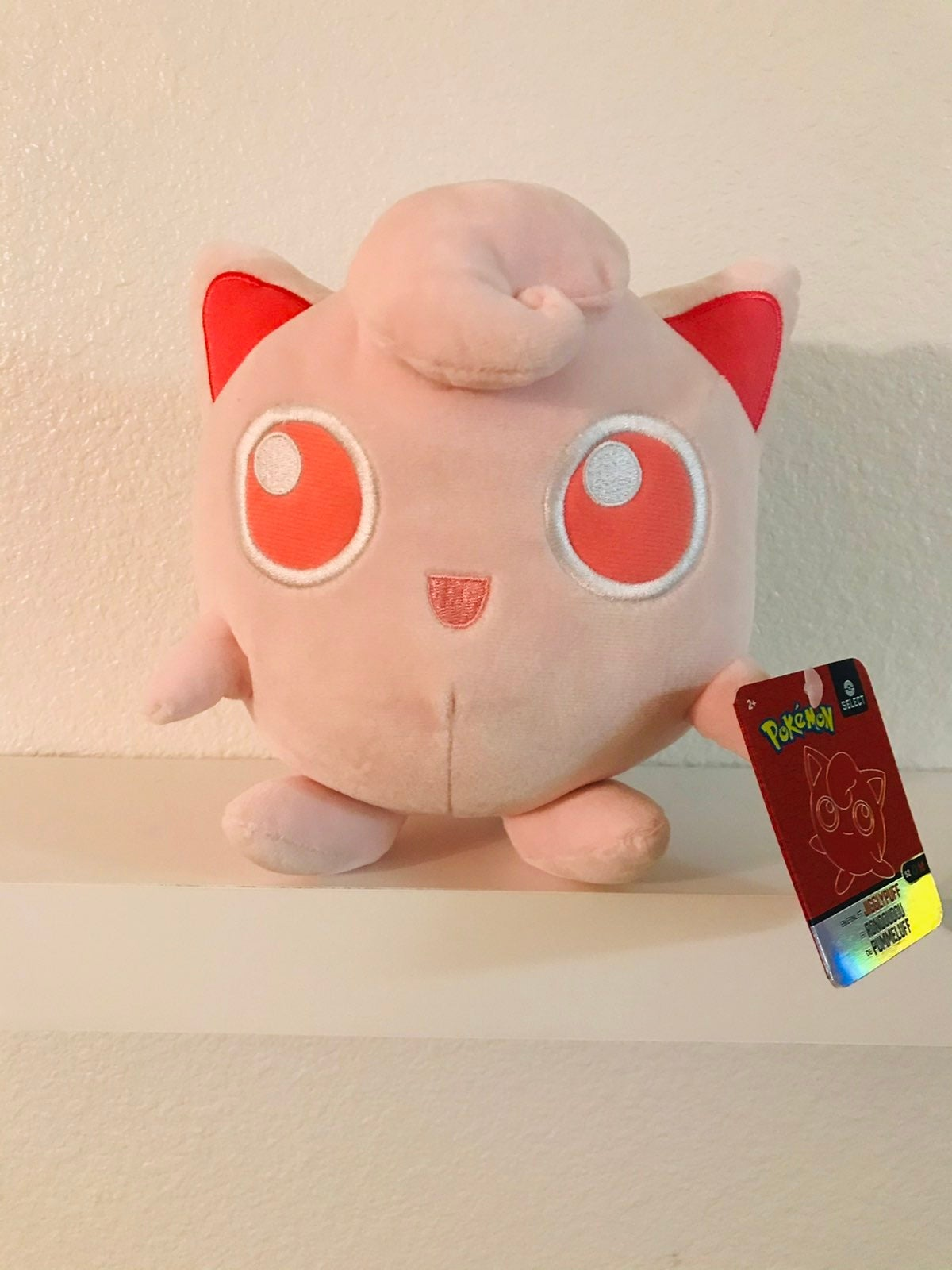 Jigglypuff Select Tonal Pokemon Plush