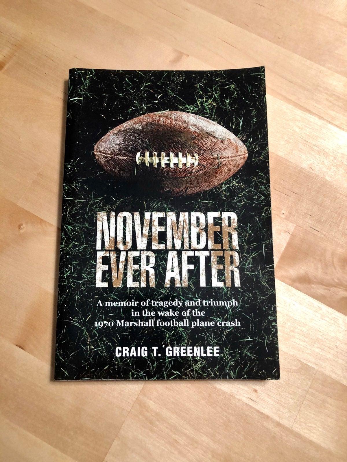 November Ever After Paperback Book