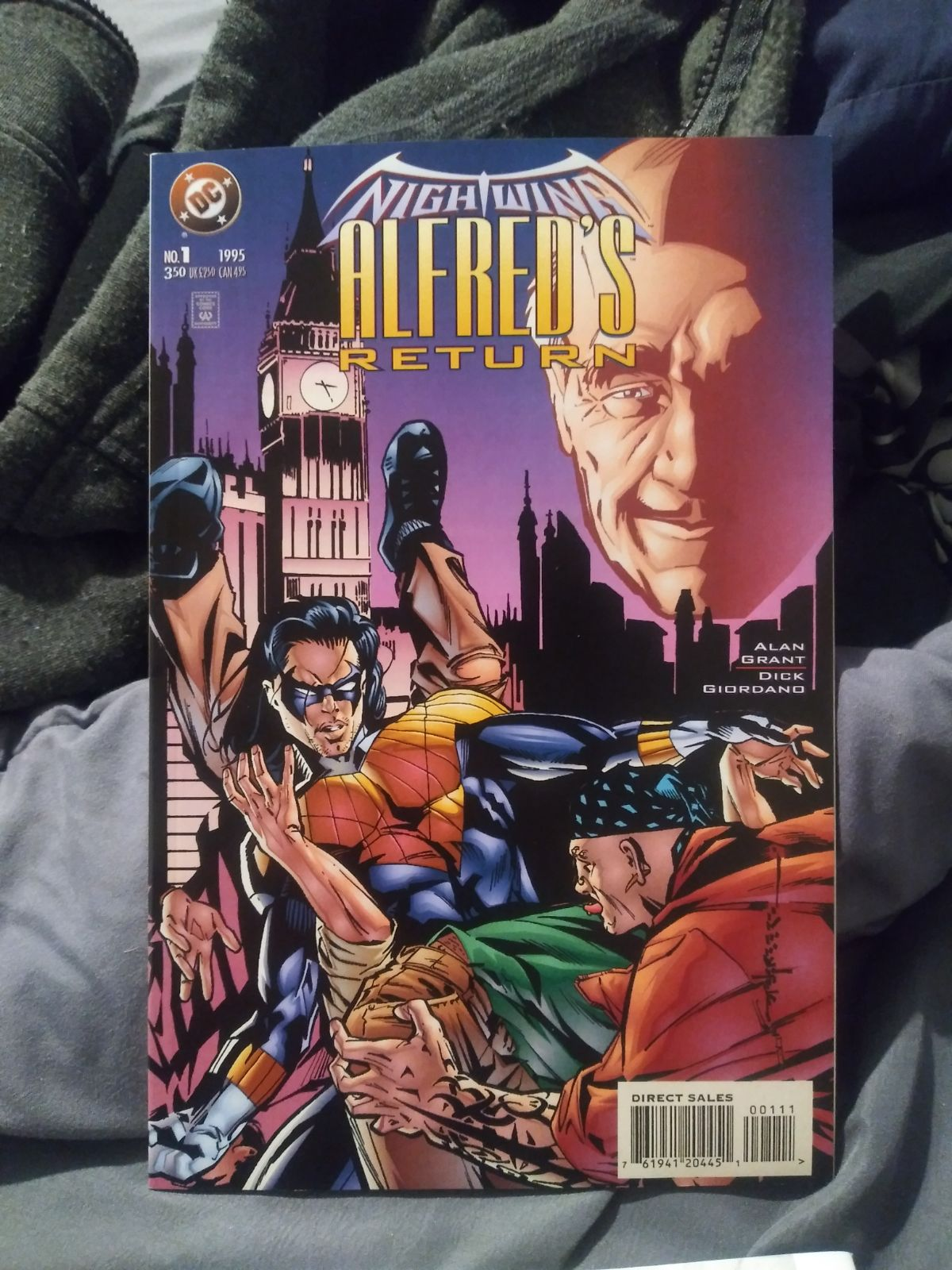 "NIGHTWING ""ALFREDS RETURN"" DC COMICS"