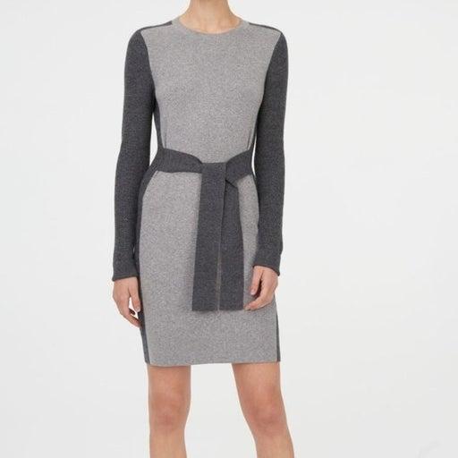Club Monoco Gray Arnettie Sweater Dress SM