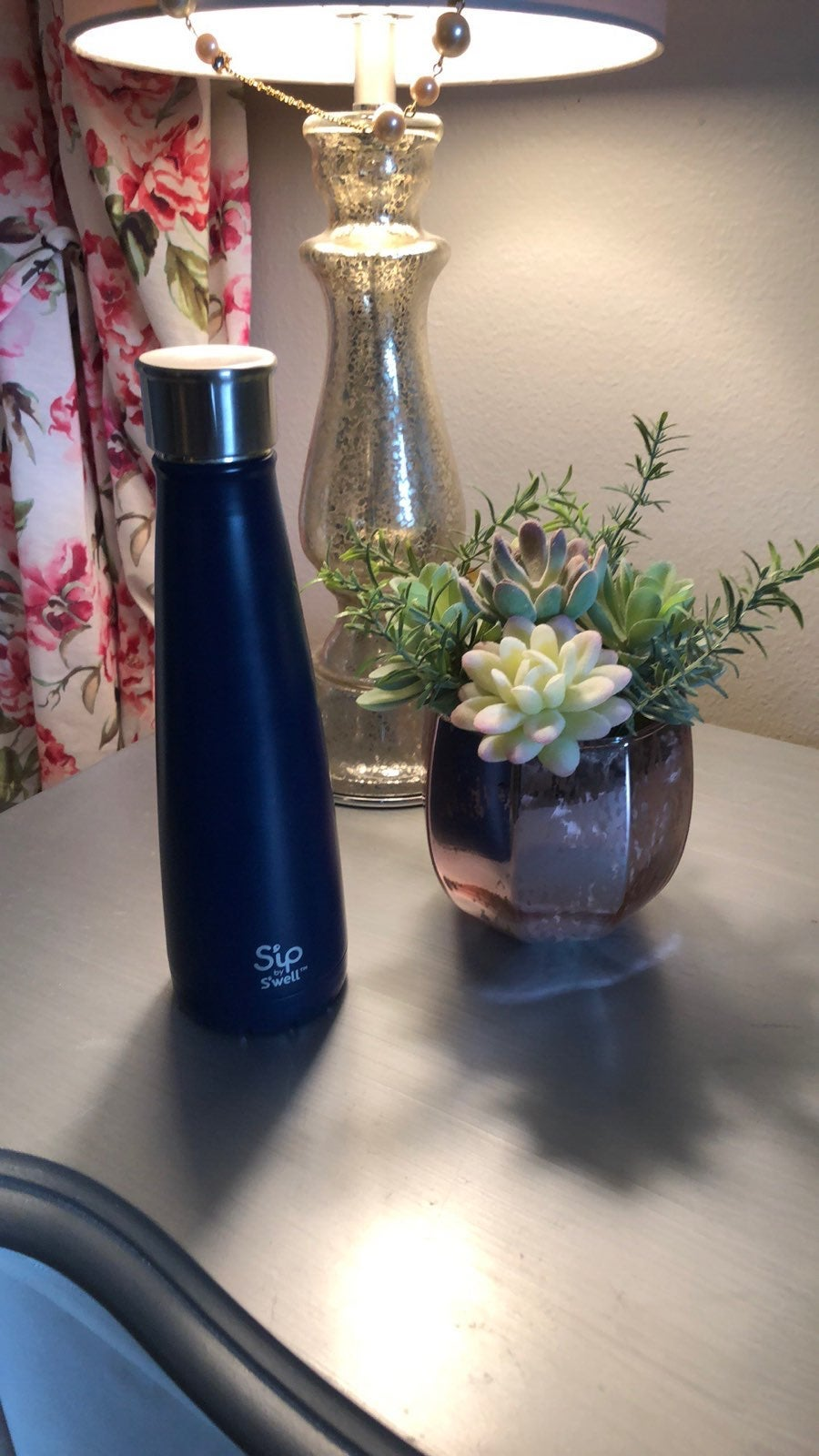 Navy Sip By Swell Bottle
