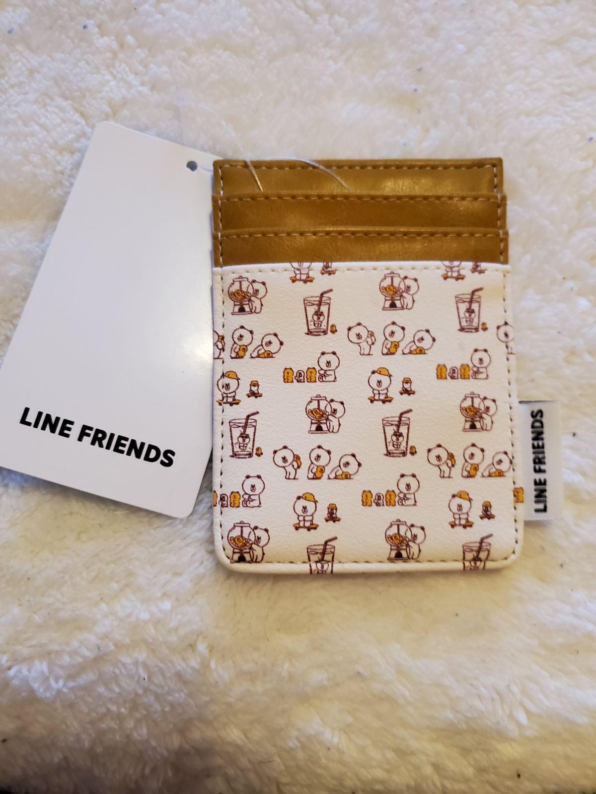 Line Friends card holder