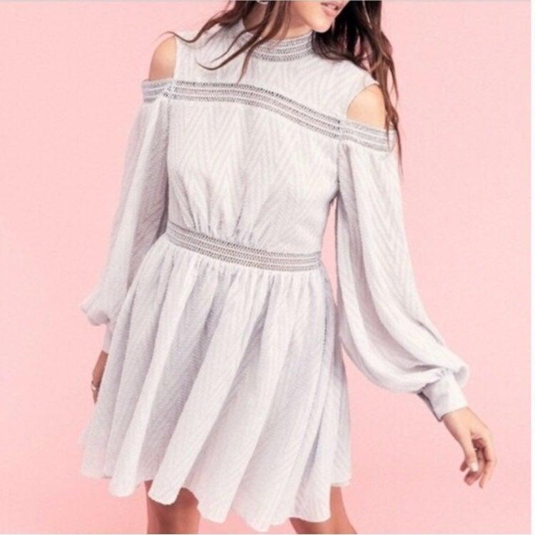 Acler Aslan Pastel Purple Mini Dress