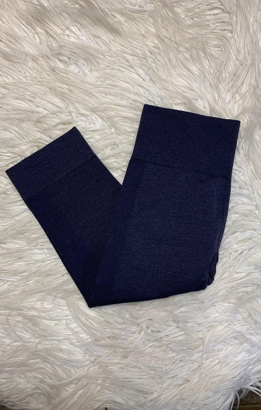 Luluemon Blue Capris Leggings