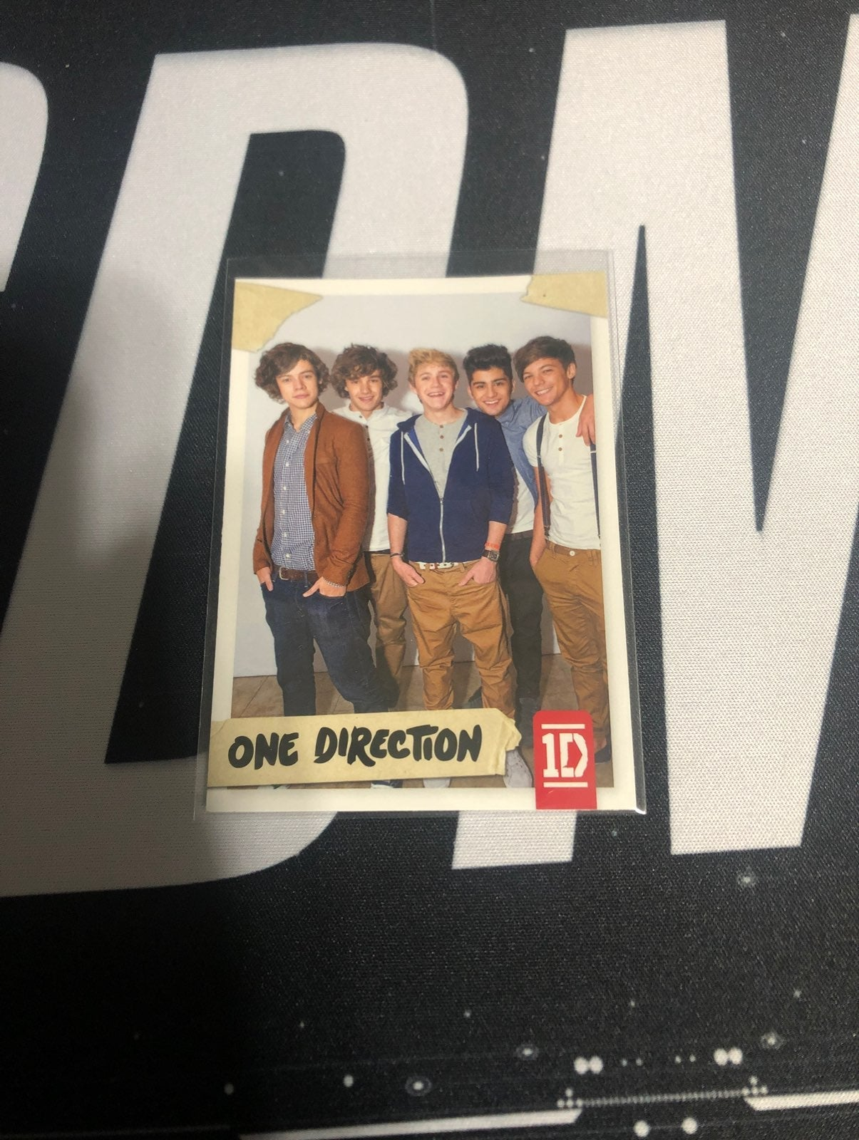 One Direction base set #78 trading card