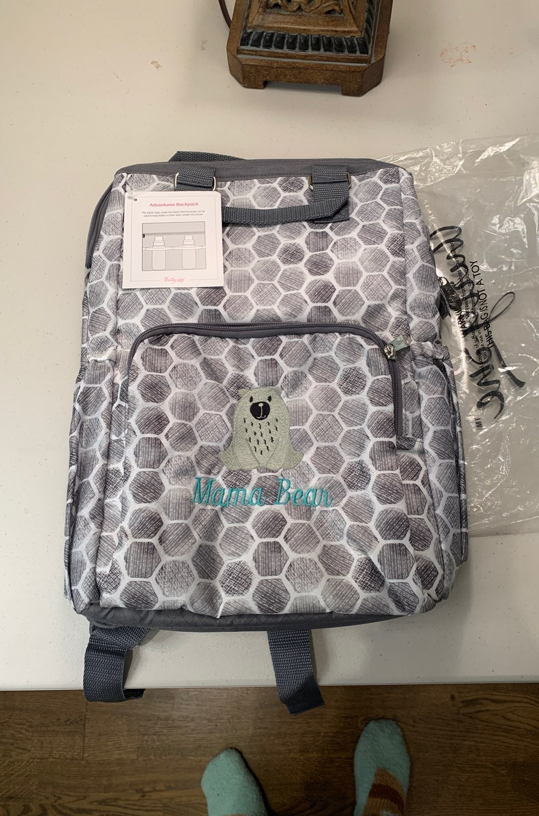 Adventures backpack
