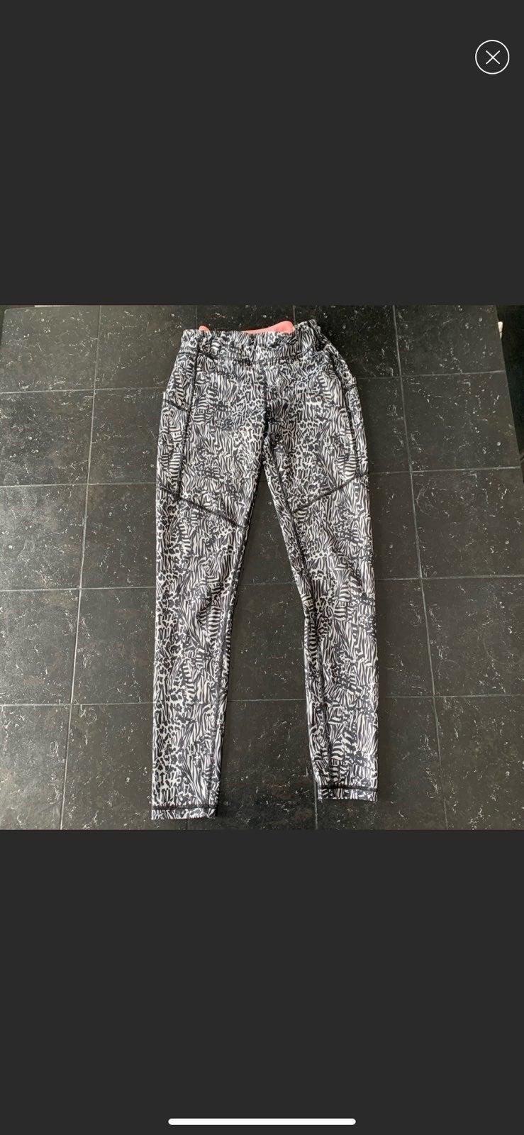 Gray and Black Ivivva Leggings Size 00