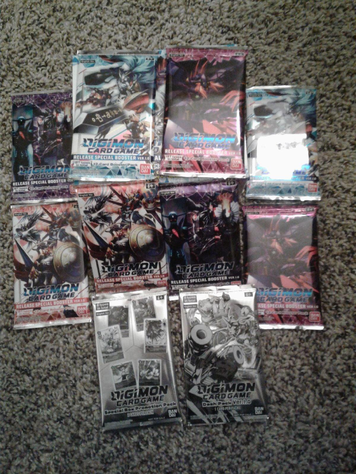 Digimon Card Game Bundle unopened