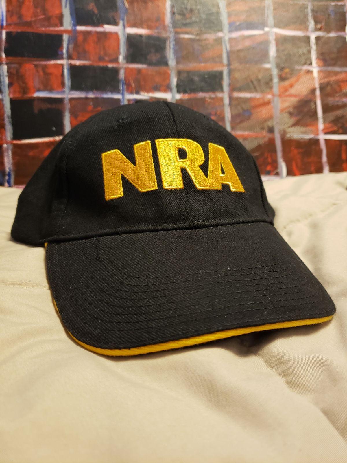 NRA black&yellow Hat