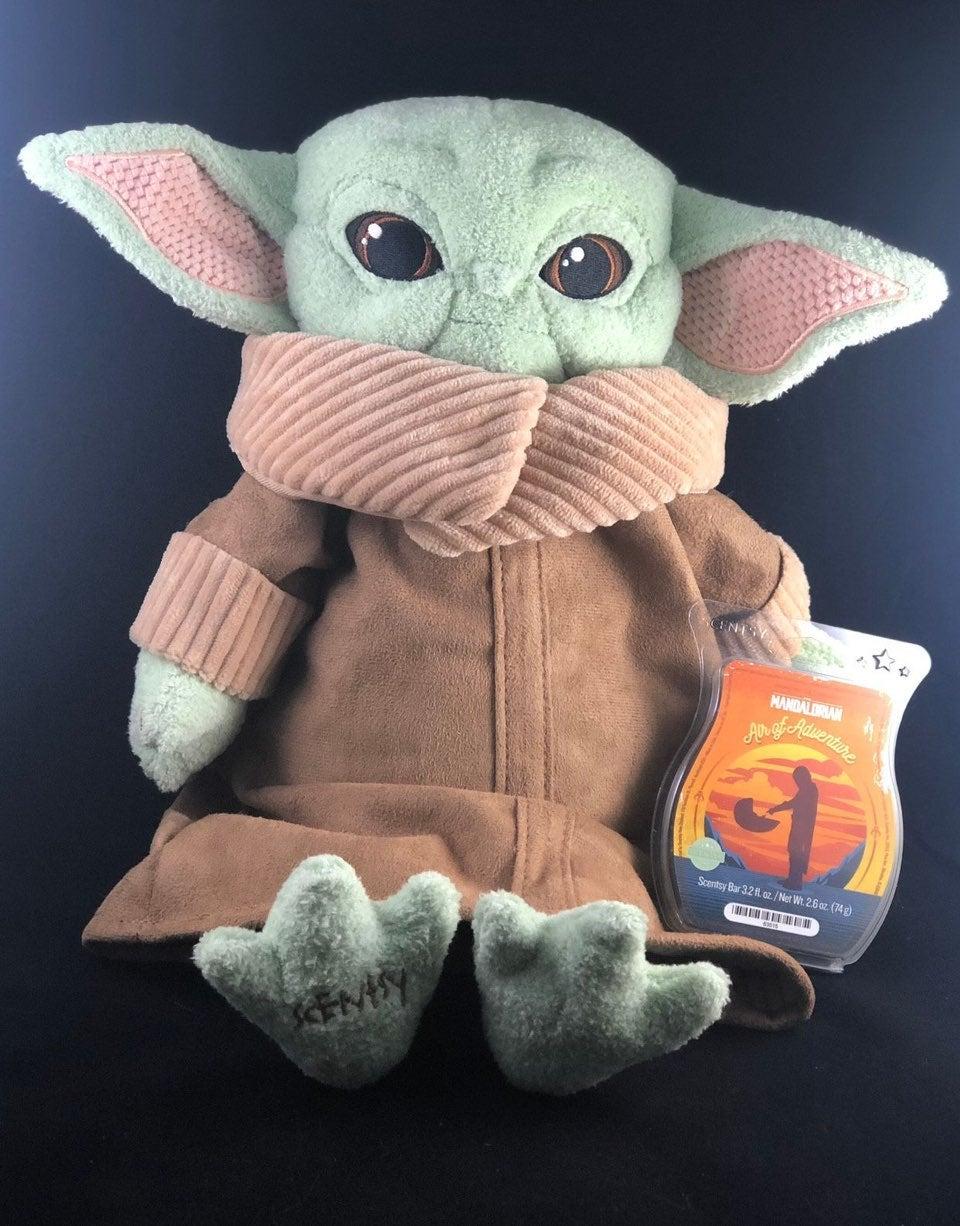 """NEW Yoda """"the child"""" scentsy buddy"""