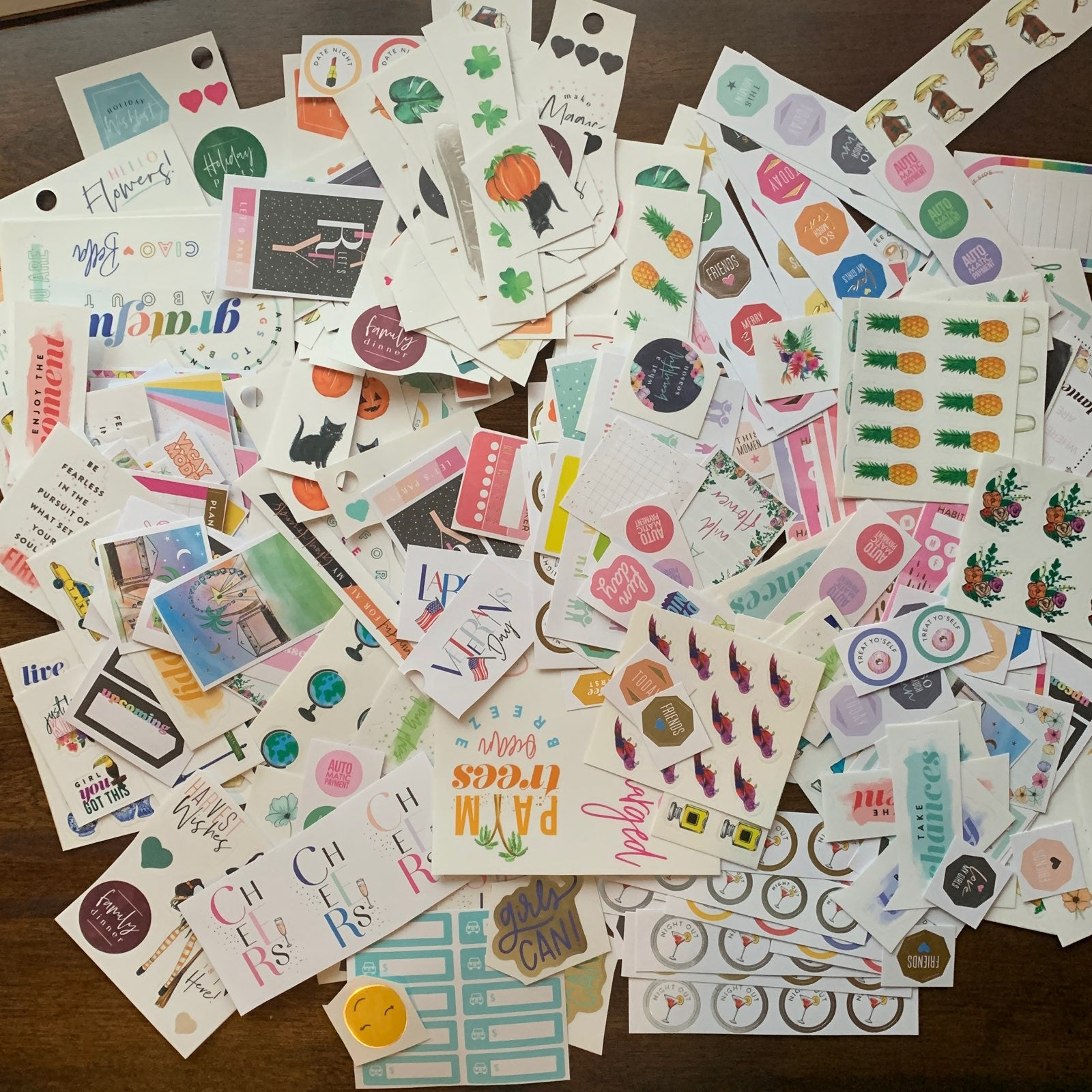 Happy Planner Stickers Random Mix