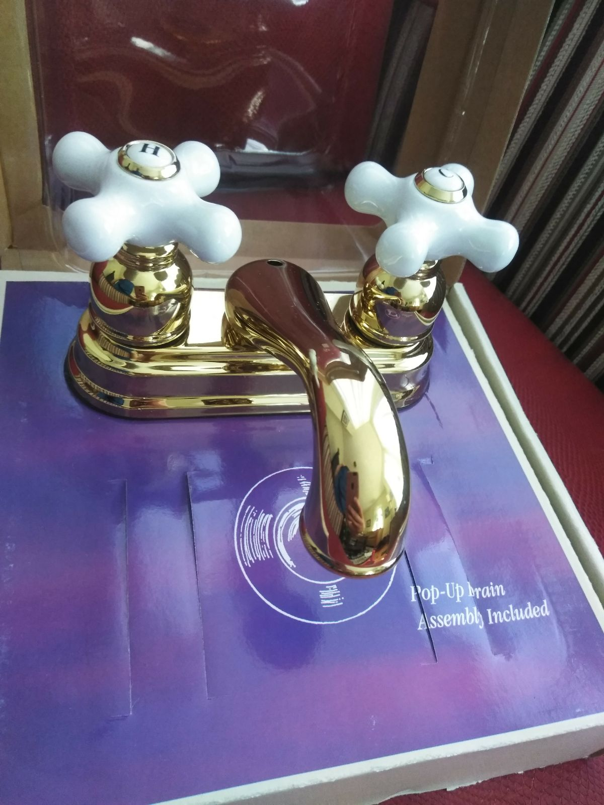 Exquisite bath faucet
