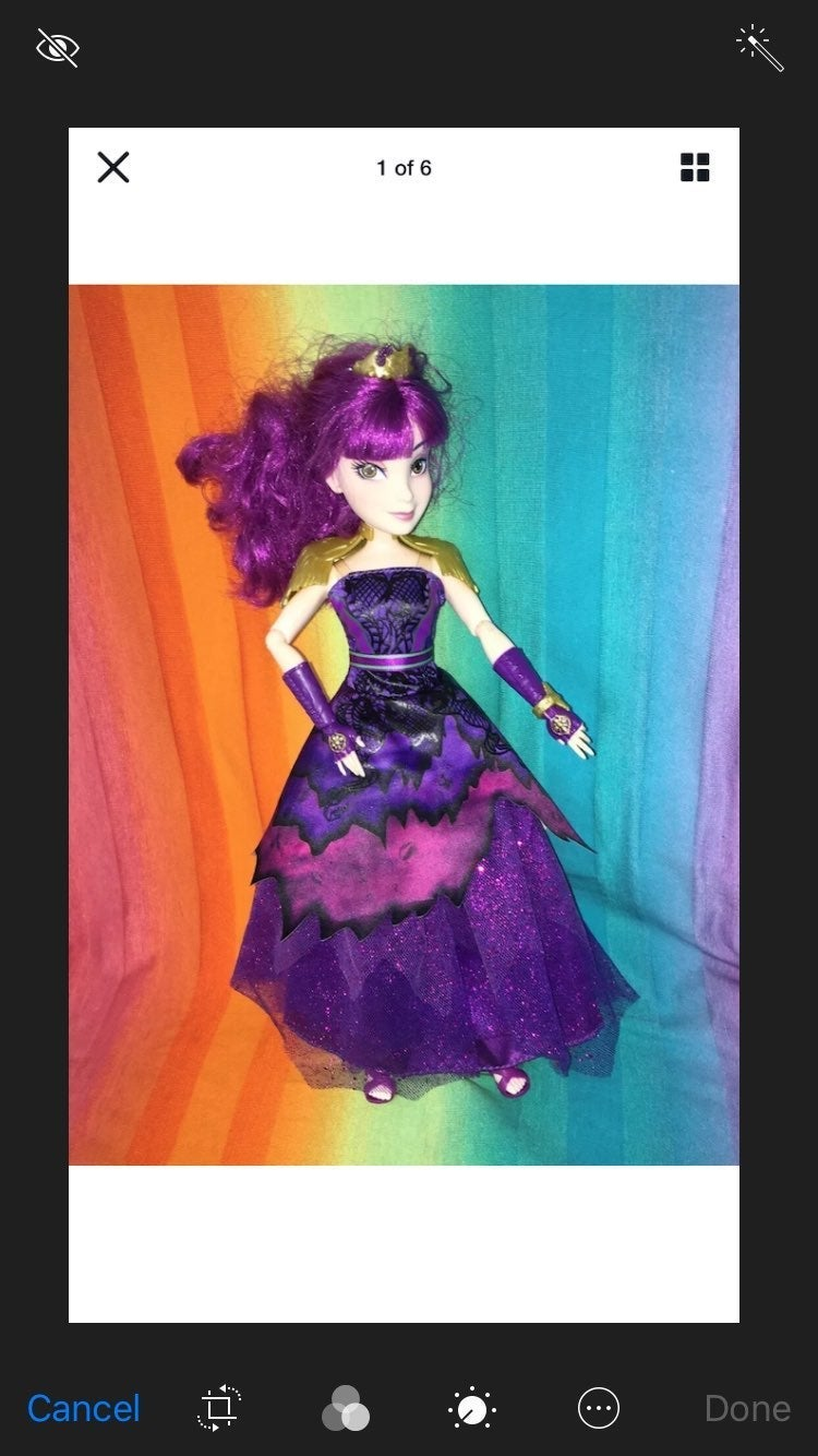 Descendants 2 Yacht Ball Gown Mal Doll