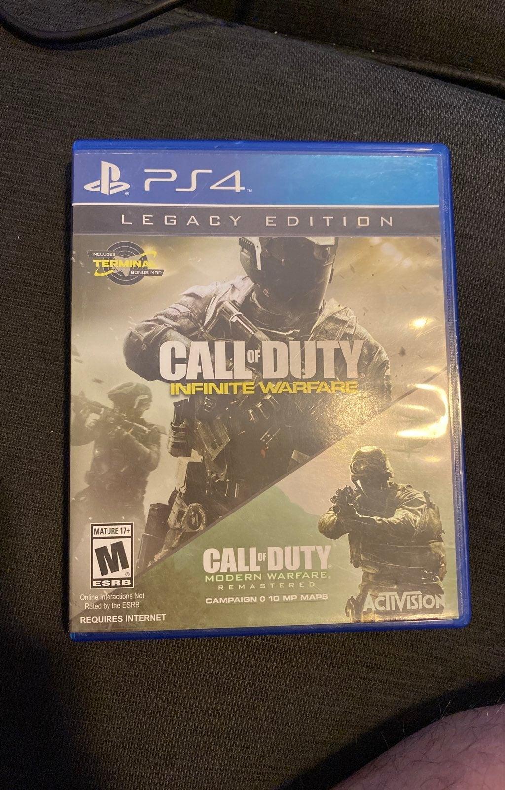 PS4 Call Of Duty Infinite Warfare Legacy