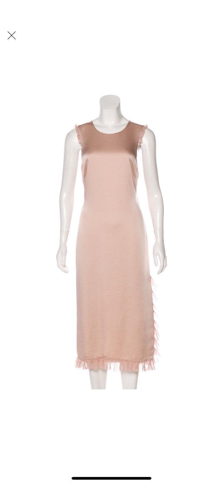 Elizabeth & James Tonal Midi Dress