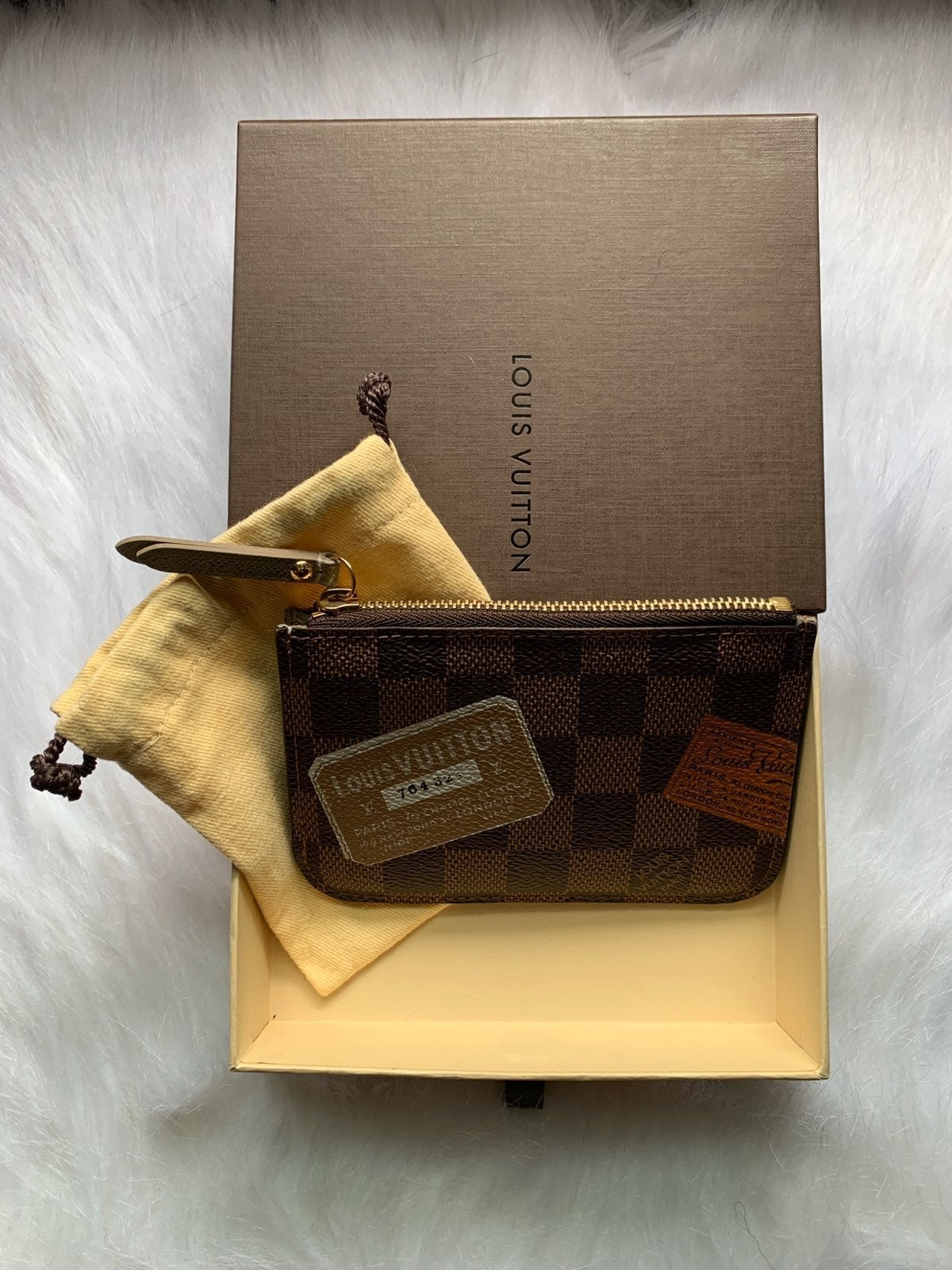 RESERVED Louis Vuitton Key Pouch