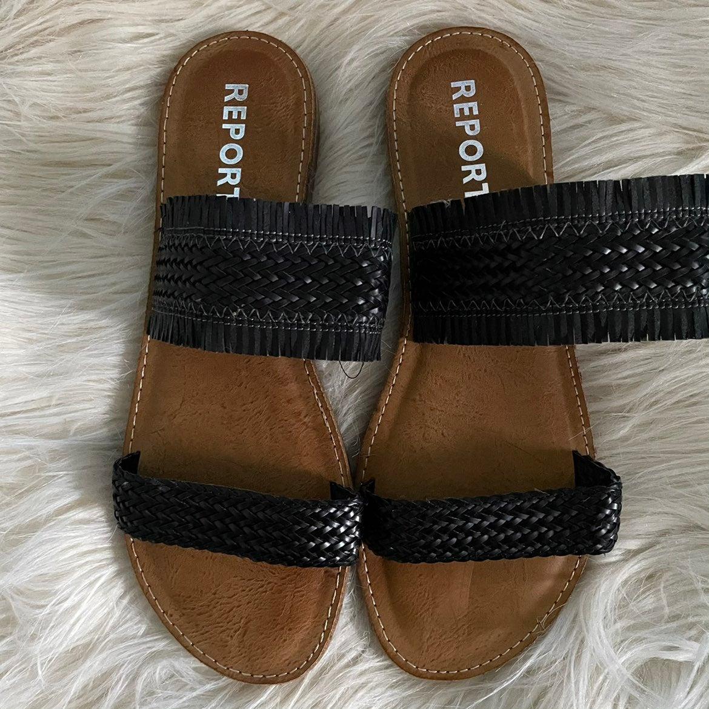 Report Women Sandals Sz 7.5