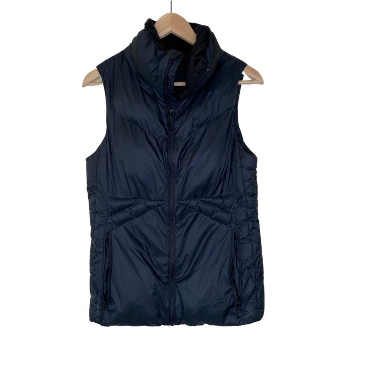 Champion Black Puffer Vest