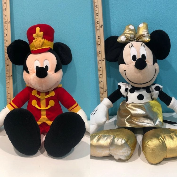 Mickey and Minnie Mouse Plush Bundle