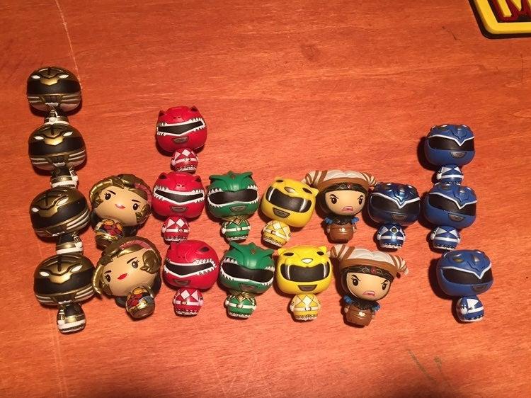 Funko Power Rangers Pint Size Hero Lot