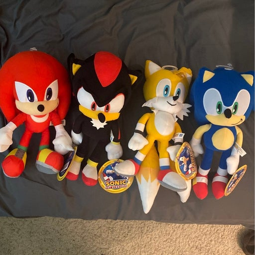 Sonic Plush Lot
