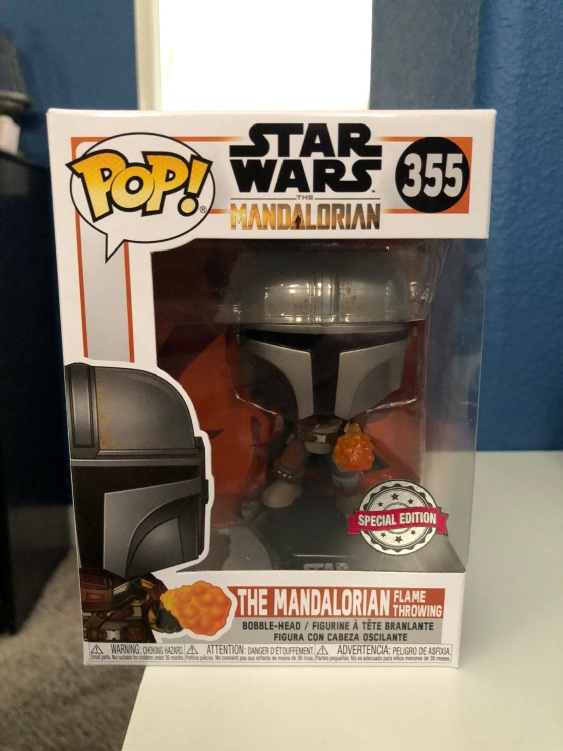 Funko Pop Mandalorian #355 Flame Throw